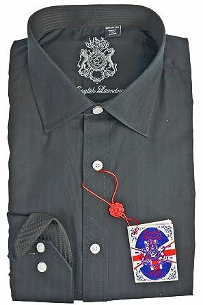 b6e26a8008 English Laundry Solid Dress Shirt at Amazon Men's Clothing store:
