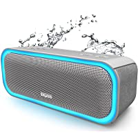 DOSS SoundBox Pro Portable Wireless Bluetooth Speaker with 20W Stereo Sound, Active Extra Bass, Wireless Stereo Paring…