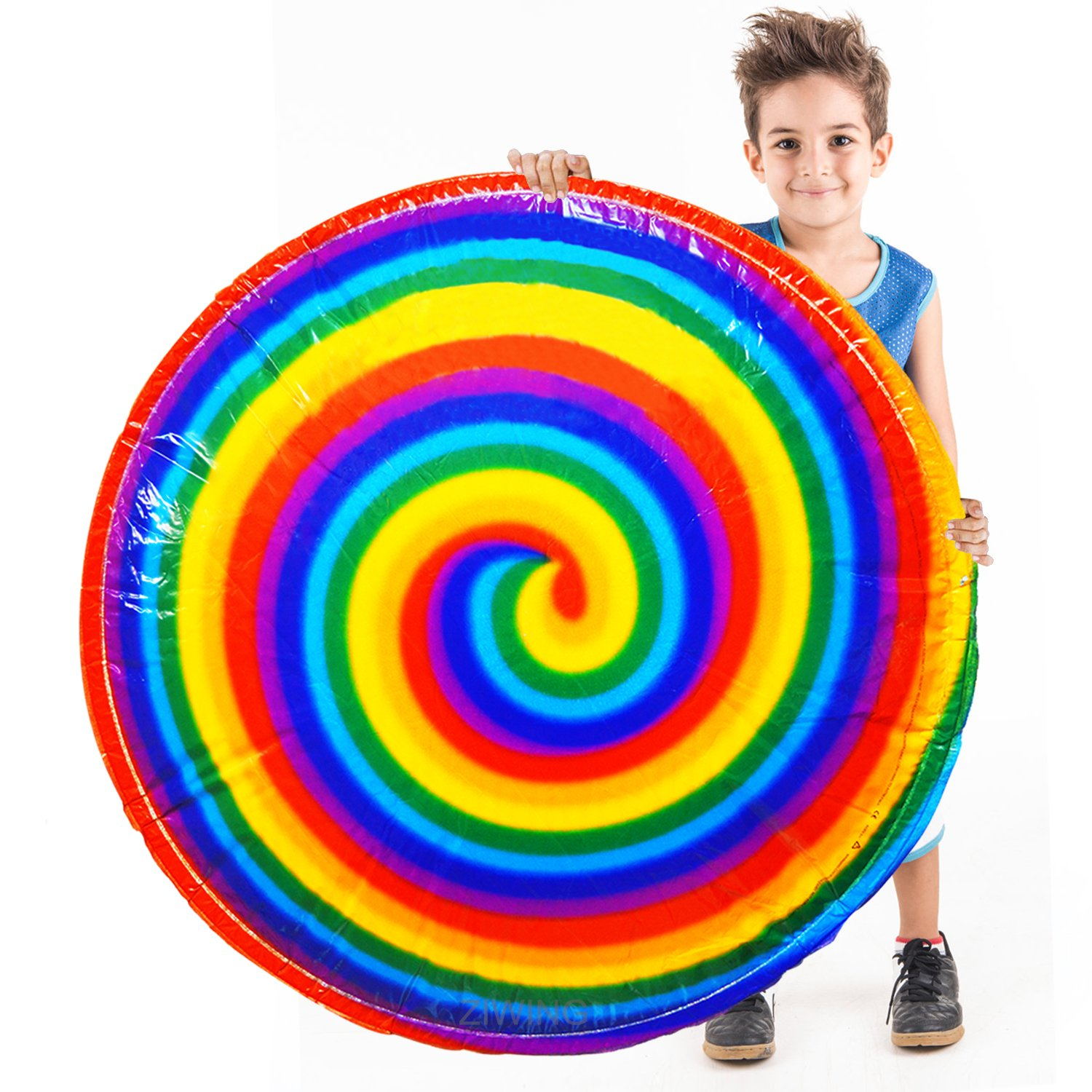 Hover HyperDisc Flying Disc Air Spinner Rainbow Printed Child Kids Great Outdoor Toys Safety Popular Children Toy Gift-ForeverMagicToys china