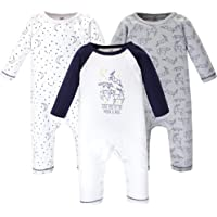 Touched by Nature Baby-Boys Unisex-Baby 10168391 Unisex Baby Organic Cotton Coveralls and Union Suits Jumpsuit