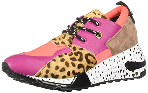 Steve Madden Sneaker Cliff Pink Multi  Amazon.it  Scarpe e borse 9109273d900