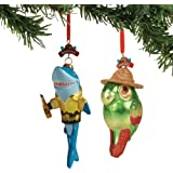 Department 56 Margaritaville Icons Hanging Ornament Set, 5.71""