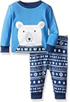The Children's Place Big Boys' 2-Piece Cotton Pajama Set (Pack of 2)