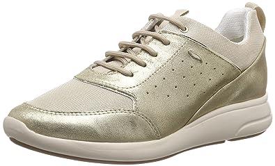 Geox D Ophira B, Zapatillas para Mujer, Plateado (Lt Grey/Silver), 36 EU