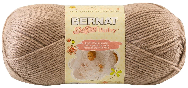 Amazon.com: Bernat Softee Baby Yarn, Solid, 4.9 Ounce, Little Mouse