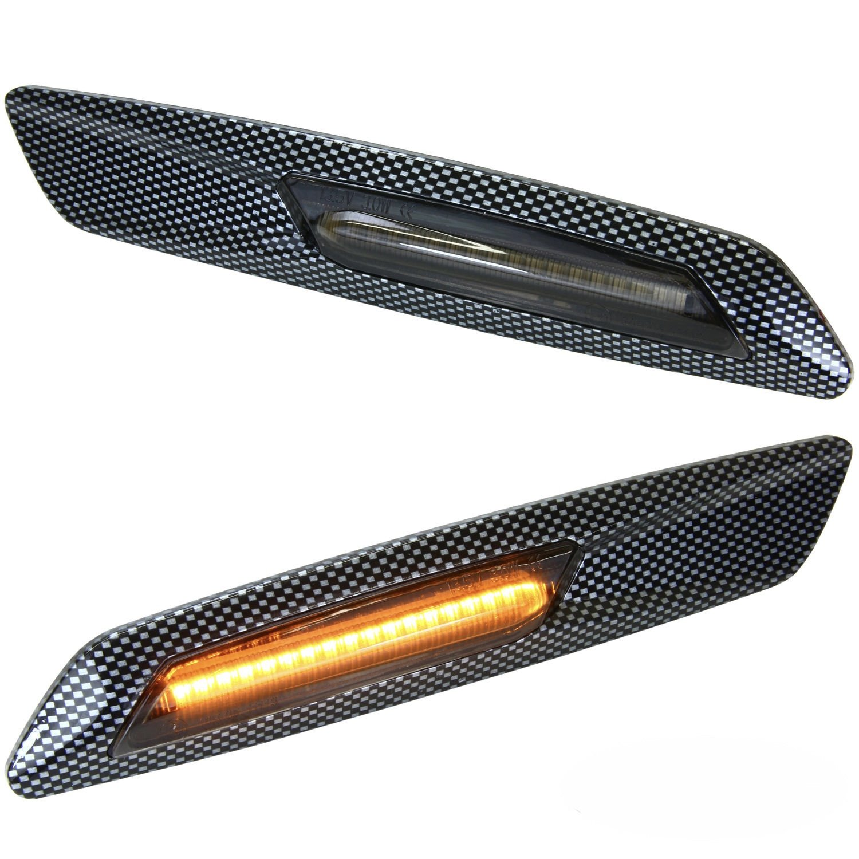SMD frecce laterali a LED, carbon Phil Trade