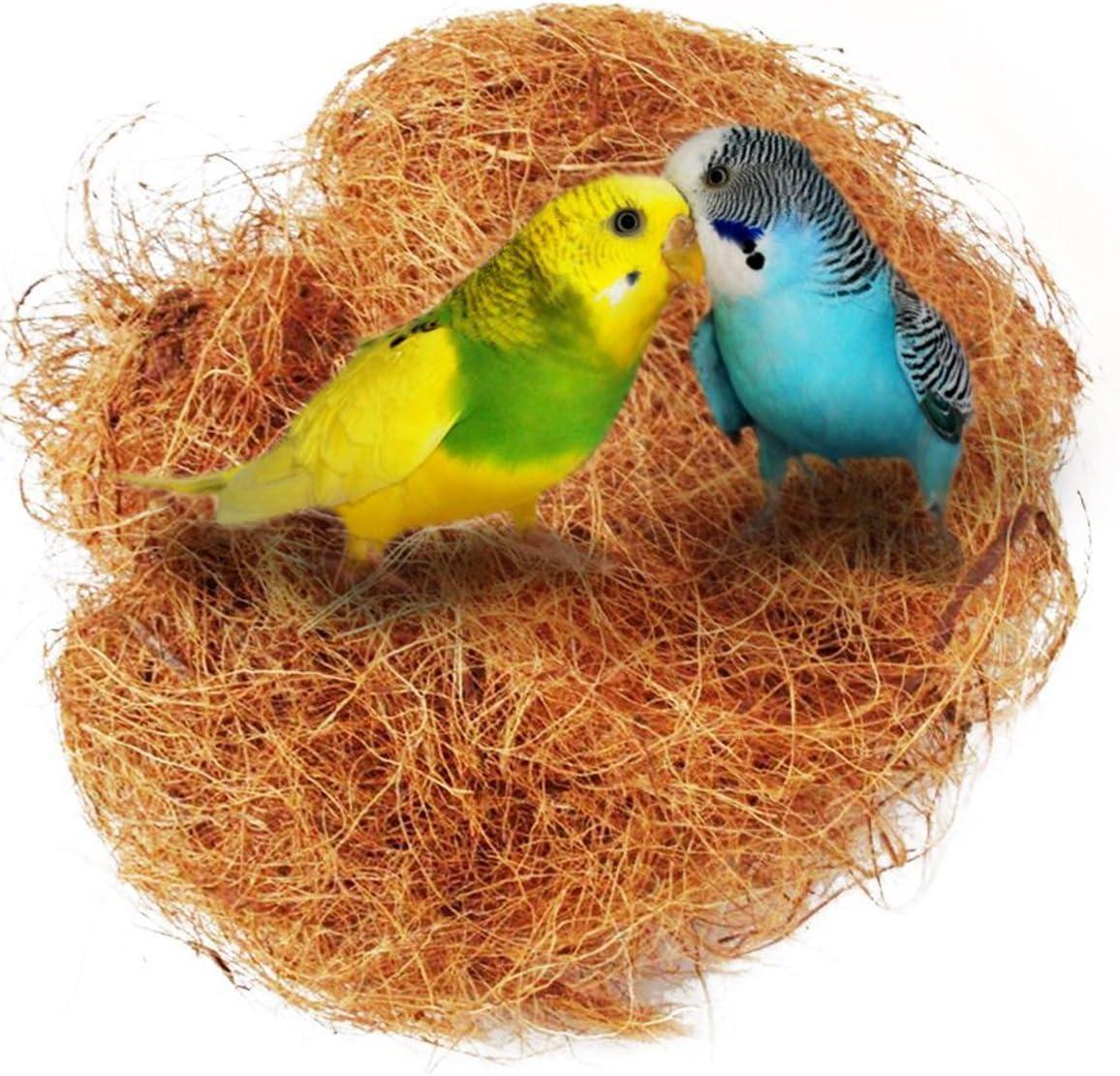 Yardwe Comoda Lettiera in Fibra di Cocco per Piccoli Uccelli E Animali Materiale di Rivestimento per Nidi per Nascondigli E Vasi di Fiori