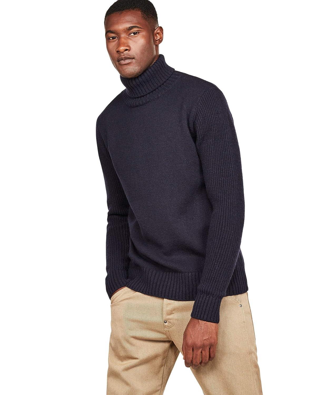 G-STAR RAW Core Turtle Knit LS suéter para Hombre