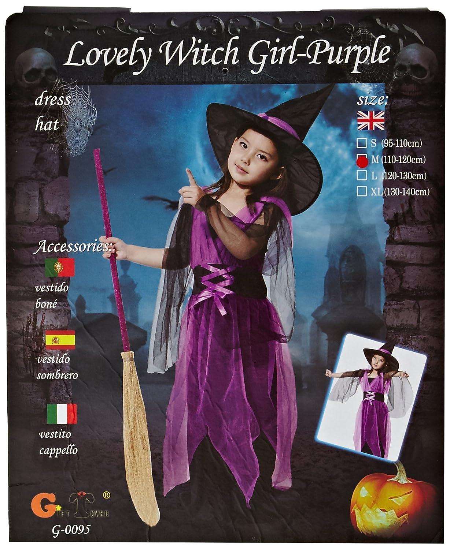 Free Fisher-Costume per travestimento per bambina CP0125