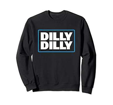 36ca6339e Amazon.com  Bud Light Official Dilly Dilly Sweatshirt  Clothing