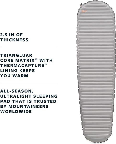 Therm-a-Rest NeoAir XTherm Ultralight Backpacking Air Mattress