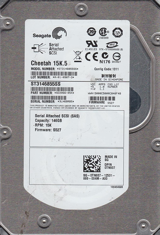 Seagate ST3146855SS 146GB 15K SAS