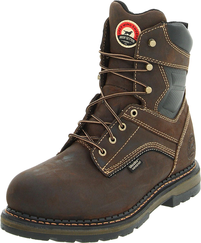 83800 Aluminio Toe botas Trabaño marrón