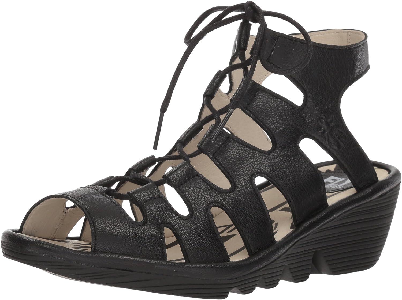 Fly London Port813fly, Zapatos de tacón con Punta Abierta para Mujer