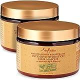 باقة قناع علاج الترطيب المكثف بعسل المانوكا وزيت المافورا من شركة شيا مويستشر Pack of 2