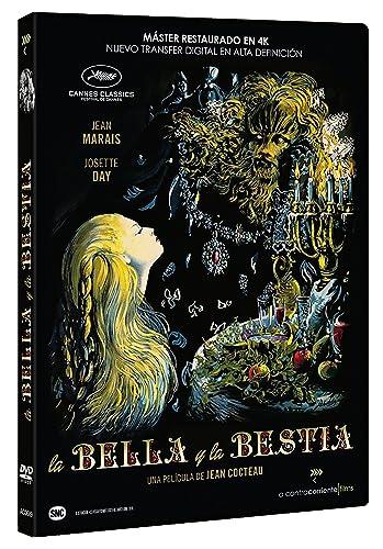 La Bella y la Bestia (1946) [DVD]: Amazon.es: Jean Marais, Josette ...