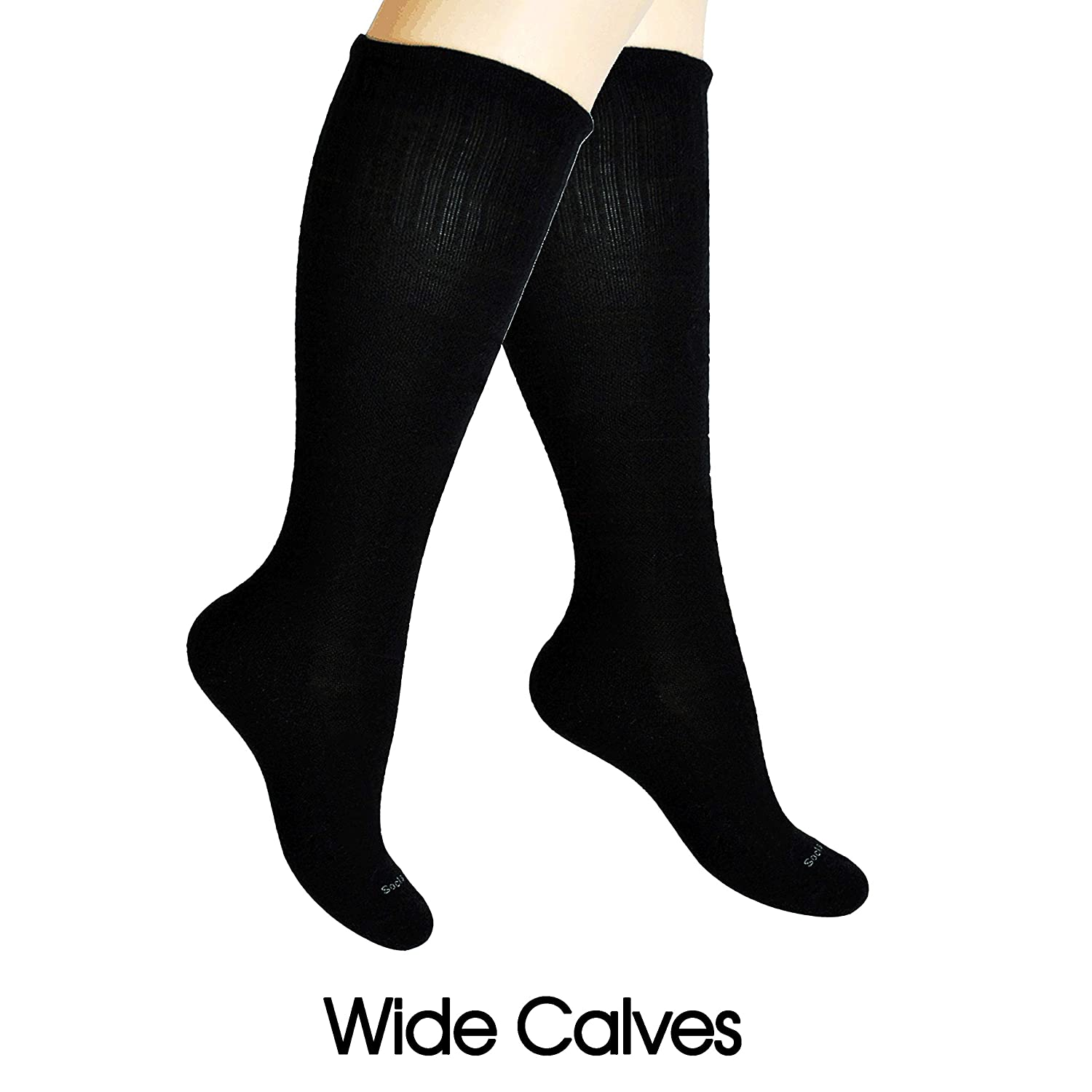 ae8579a8c66 Amazon.com  SocksLane Cotton Compression Socks for Women. Graduated ...