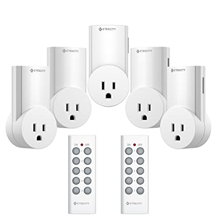 Etekcity Upgraded Version Wireless Remote Control Plug Electrical