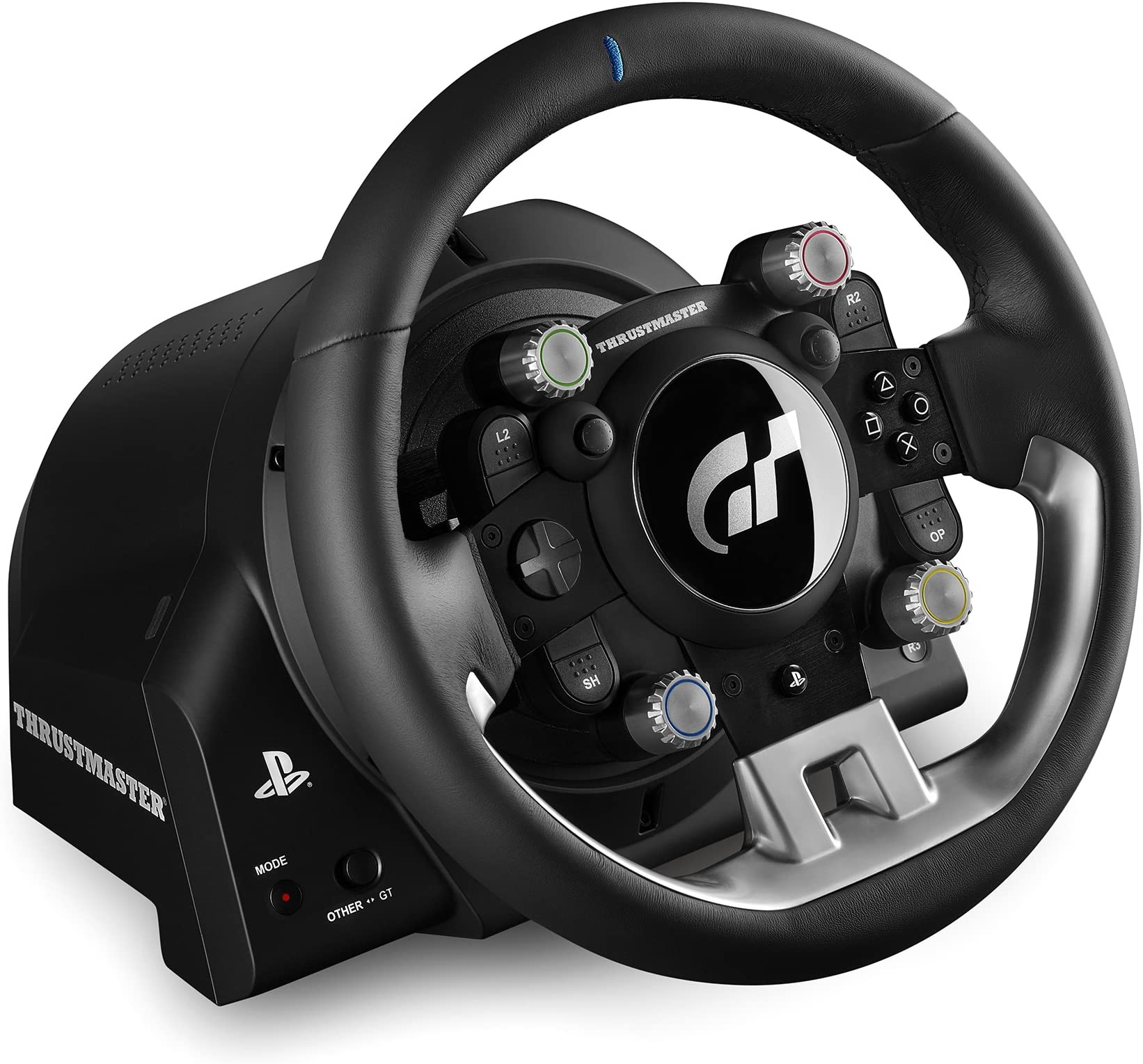 Thrustmaster T Gt Racing Wheel Ps4 Pc Video Games Business Office Industrial Automation Motors Drives Control Image Unavailable