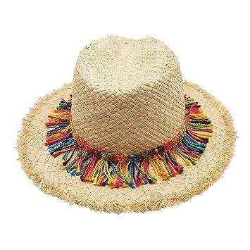 6f4d2c805b8 Bainuote Summer Sun Hat Foldable Summer Hats for Women Bohemia Style  Fashion Summer Sun Block Beach