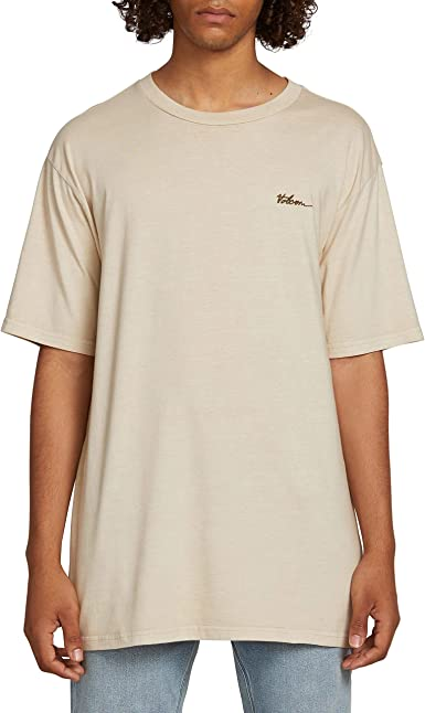 $385 BUFFALO DAVID BITTON Mens GRAY SHORT-SLEEVE CREW NECK GRAPHIC TOP T-SHIRT L