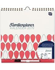 Boxclever Press Familienplaner Kalender 2019 Terminplaner, Wochenkalender. Wochenplaner 2019 Familienplaner mit Wochenansicht und Spalten für bis zu 6 Personen, läuft ab jetzt bis Dezember 2019