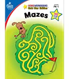 Carson Dellosa | Mazes Activity Workbook | Preschool–1st Grade, 64pgs (Home Workbooks)