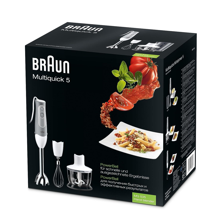 Appliances 0X81339185/_GY 220-volt Gandhi Braun MQ535 Multiquick Hand Blender