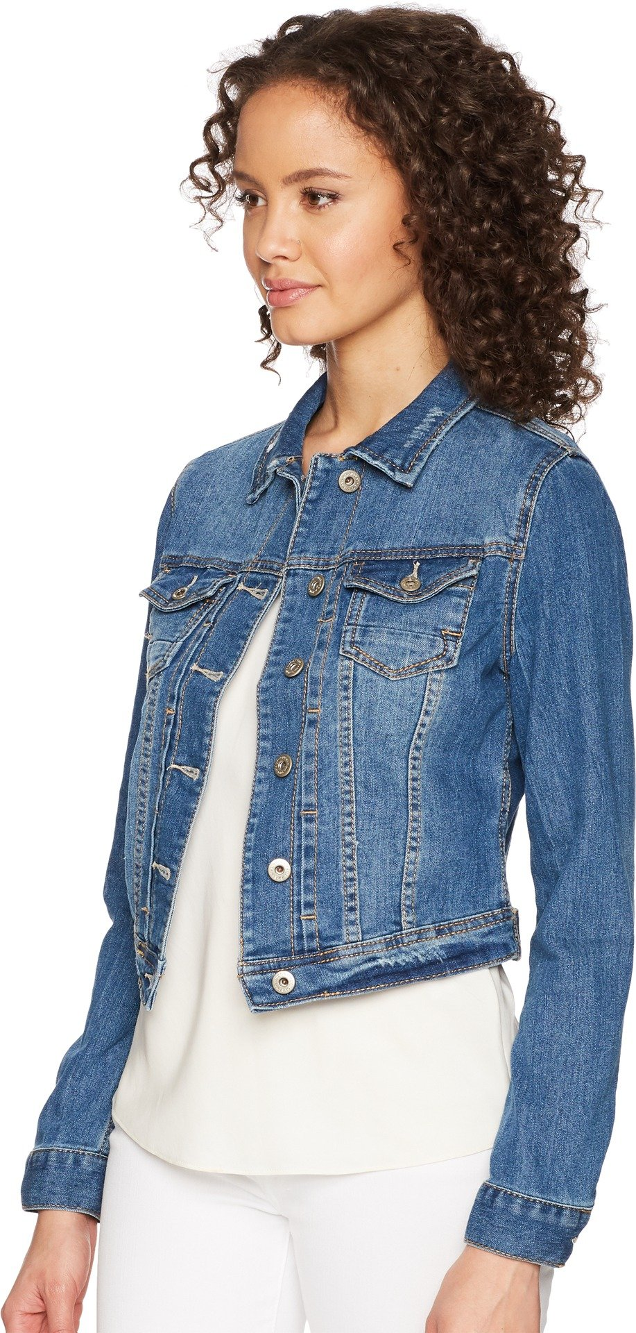 UNIONBAY Women's Lucas Denim Jacket, Cove, Medium by UNIONBAY (Image #2)
