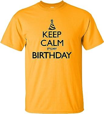Amazon.com: Youth de Keep Calm It s My Birthday playera ...