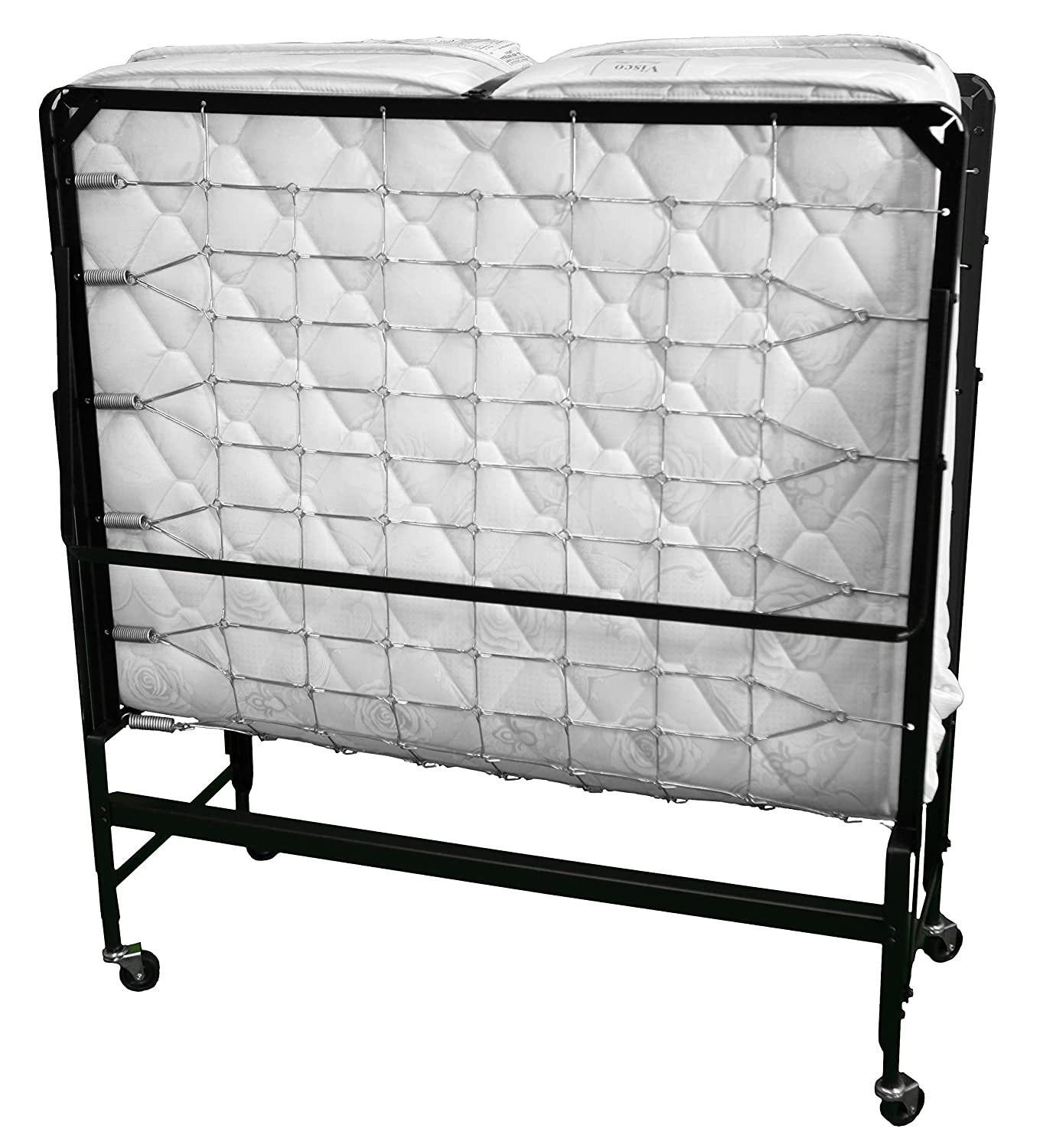 Hollywood Bed Frames Hollywood Bed Rollaway with Memory Foam Mattress, Twin Inc 950 39 MEM-I