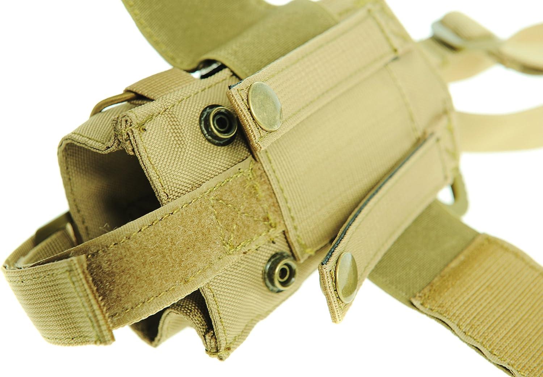 Seibertron Unisex Tactical Durable UV Resistant H2O Carrier//Bottle Holder