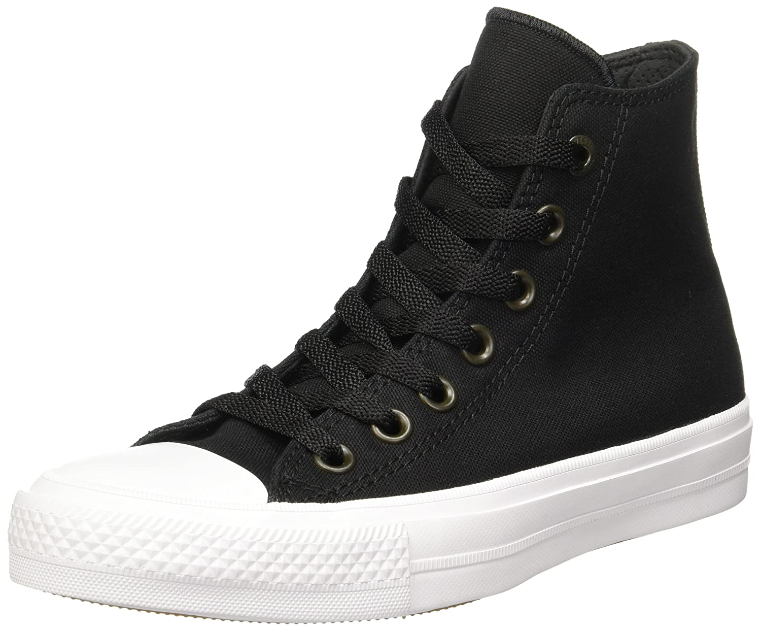e3befff65d81 Converse Chuck Taylor All Star II Black White 10.5 B(M) US Women   8.5 D(M)  US Men  Buy Online at Low Prices in India - Amazon.in