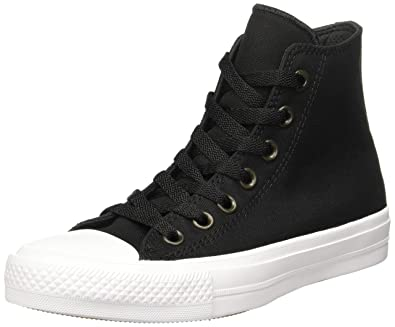 Converse Unisex Chuck Taylor All Star II Hi Black White Casual Shoe 3.5 Men  US 7de2bb3c8b11