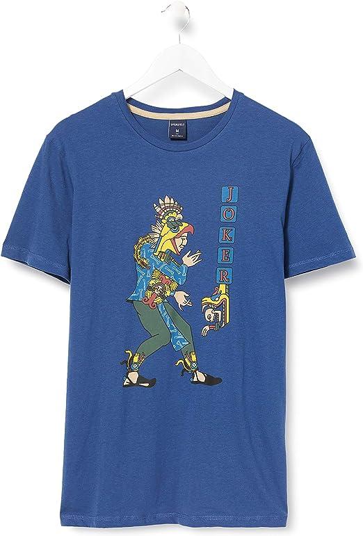 TALLA XL. Springfield Camiseta para Hombre