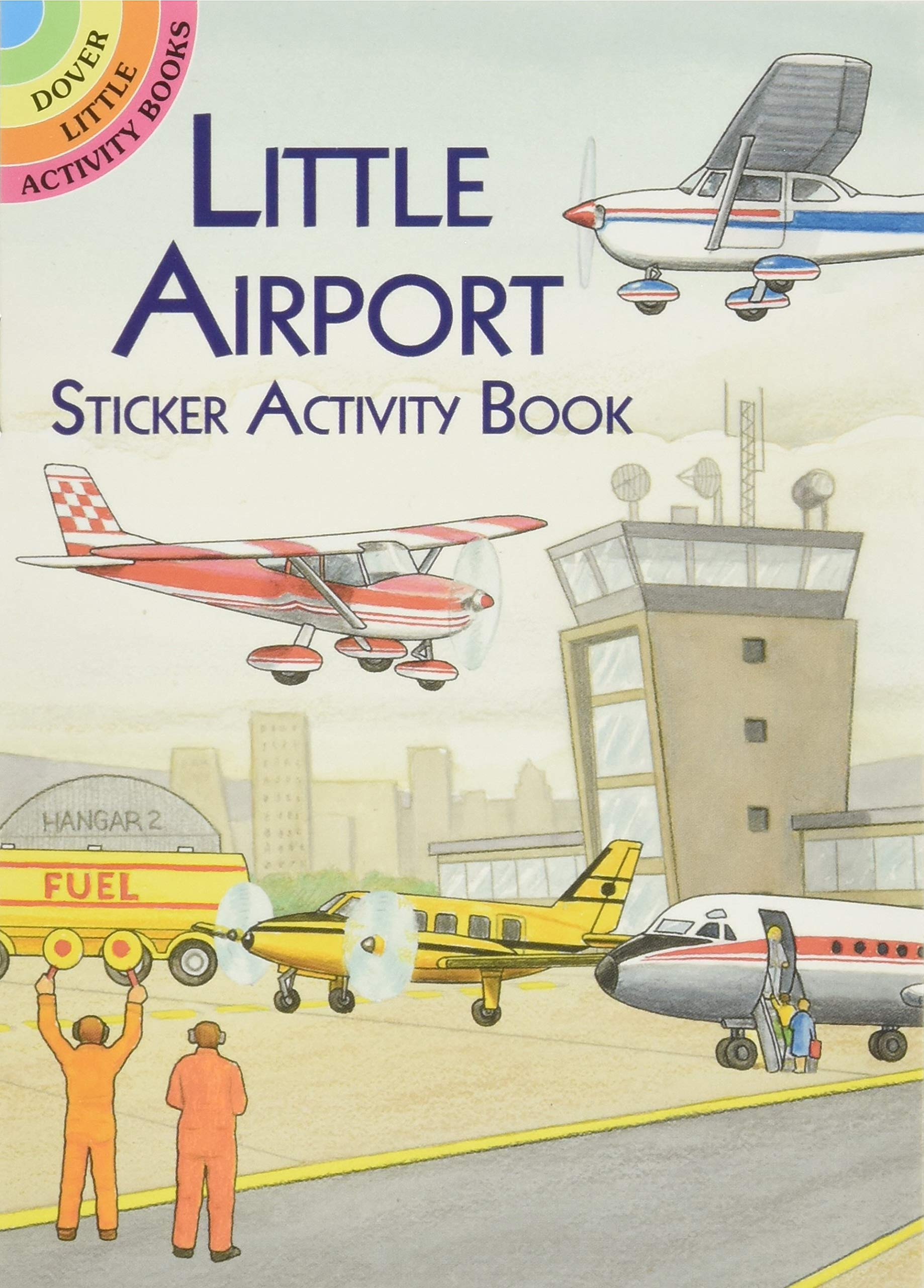 Image for Little Airport Sticker Activity Book (Dover Little Activity Books Stickers)