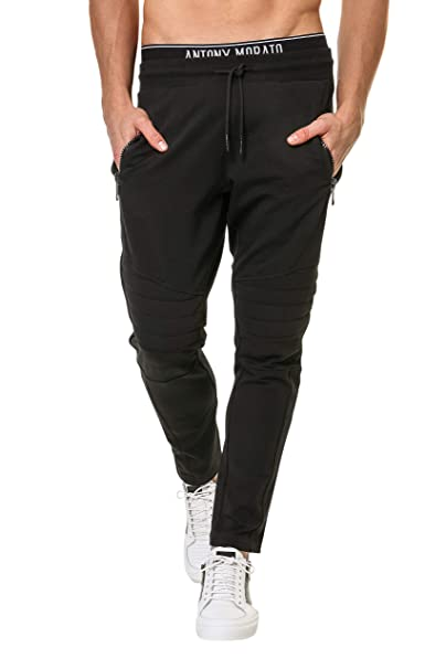 Antony Morato Mmfp00132-Fa150026 Pantalones de Deporte, Negro ...