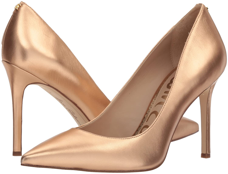 Sam Edelman Women's Hazel Pump B076NYZJ45 8.5 B(M) US|Golden Copper Metallic Leather