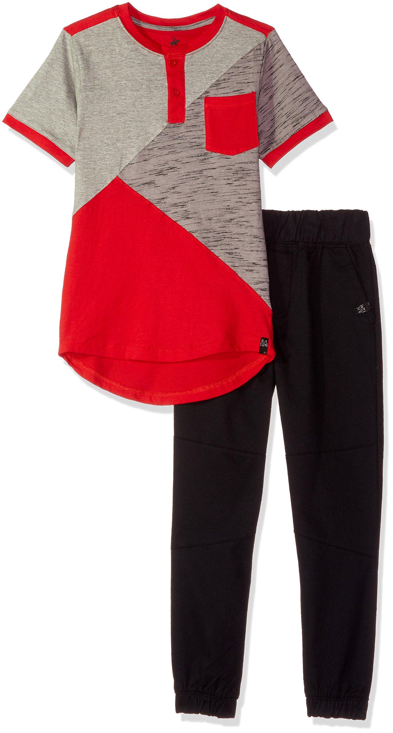 Beverly Hills Polo Club Boys' Big Short Sleeve Top