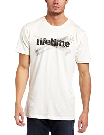 Lifetime Collective Mens Logo T-Shirt, Off White, Small