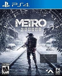 Metro Exodus: Day One Edition - PlayStation 4: Square     - Amazon com