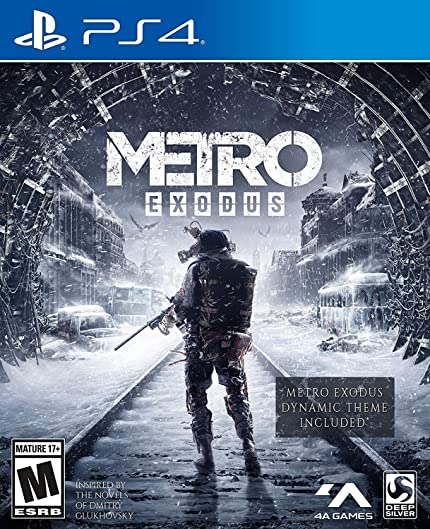 Amazon com: Metro Exodus: Day One Edition - PlayStation 4: Square