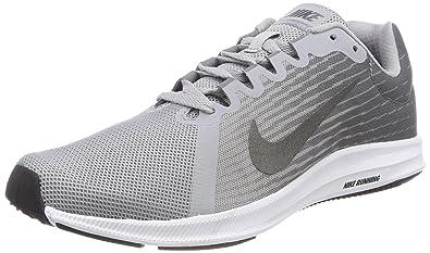 Nike Herren Downshifter 8 Laufschuhe, Grau (Wolf Grey/Metallic Dark