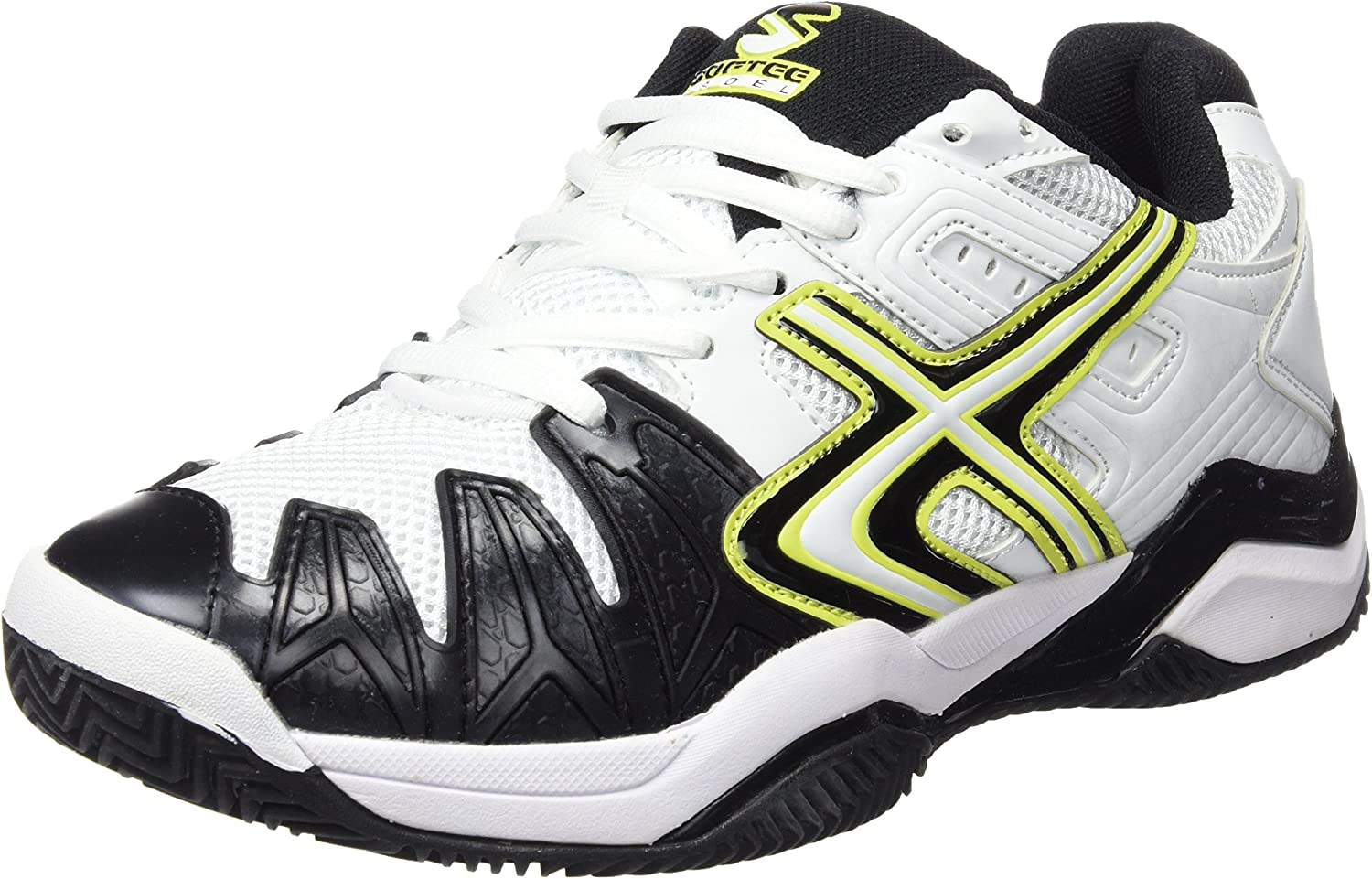 Amazon.com: Softee – Padel Shoe Winner 1.0 White/Black Size ...