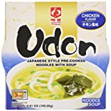 Myojo Bowl Flavored Udon Noodles, Chicken, 5.6 Ounce