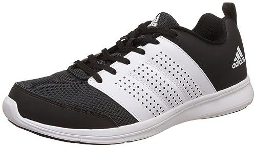 84b8392d244022 Adidas Men s Adispree M Cblack and Ftwwht Running Shoes - 11 UK India (46