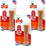 Nylabone Dura Chew Flavored Bone Dog Chew Toy, Petite/X-Small - Bacon