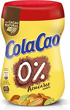 ColaCao 0% Azúcares añadidos - 300g: Amazon.es: Productos para mascotas
