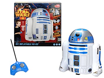 Dickie-Spielzeug - Juguete Hinchable Star Wars (Importado) - Radiocontrol Inflable R2-D2