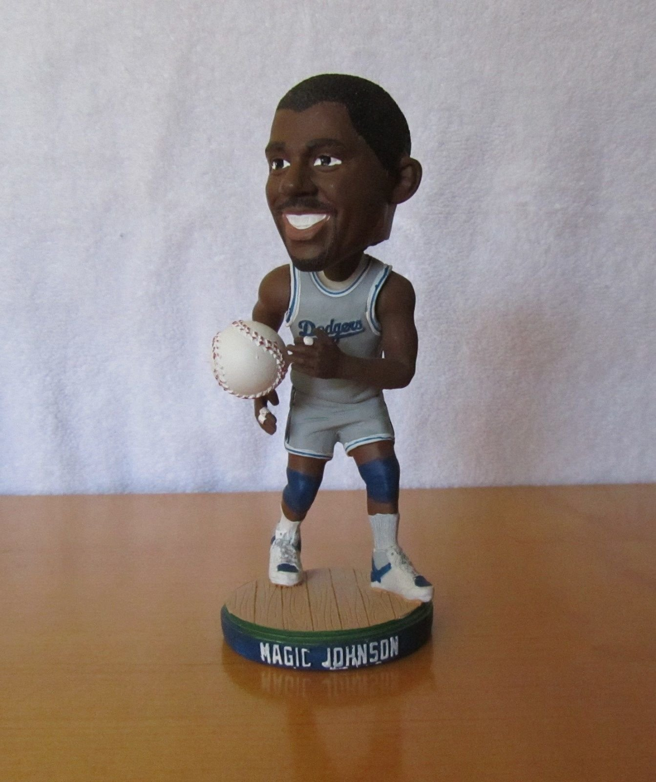 Magic Johnson 2014 Los Angeles Dodgers STADIUM PROMO Bobblehead SGA